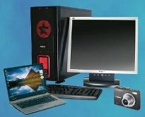 Ремонт мониторов, Ремонт жк мониторов, ремонт ноутбуков, ремонт цифровых фотоаппаратов, восстановление информации, удаление вирусов.
